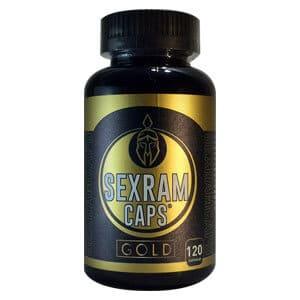 SEXRAM CAPS GOLD