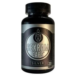 SEXRAM CAPS SILVER